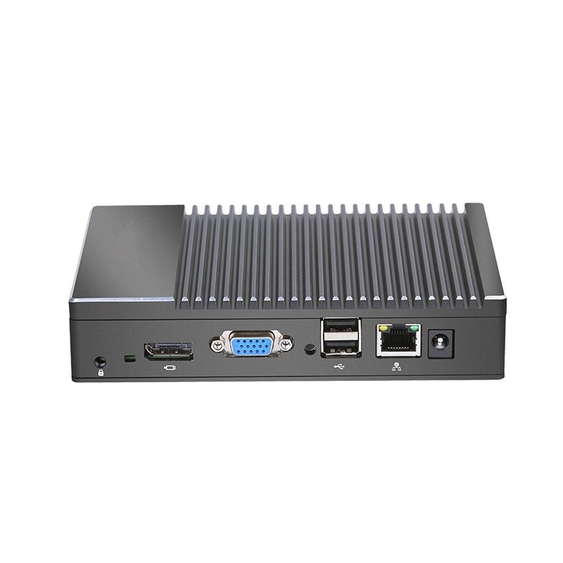 Mini PC Fabriek groothandel Fanless AMD A6 1450 Quad core Windows Win10 Linux Gaming Computer WIFI HDMI HTPC DDR3L desktop Minipc