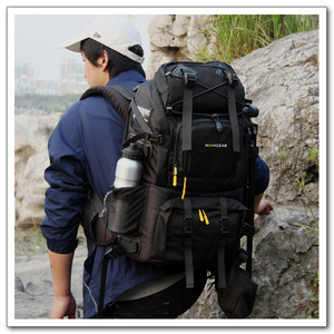 Image 3 - NOVAGEAR 80302  double shoulder camera bag waterproof shockproof outdoor large capacity SLR camera bag put 17 inch laptop