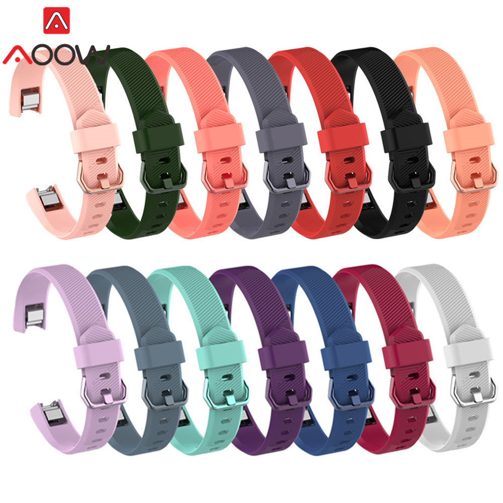 14 Colors Silicone Watchband For Fitbit Alta/ Alta HR / ACE Smart Watch Fitness Sport Waterproof Replacement Bracelet Band Strap