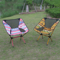 3color Oxford Cloth Beach Chair Picnic Folding Stool Durable Camping Portable Seat Small Bench