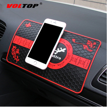 VOLTOP Chinese Style Anti-Slip Mat Car Ornaments Accessories Stowing Tidying Key Money Debris Phone Non-slip Anti-Skid Pad