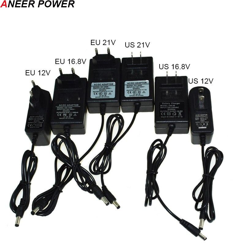 21 v 16.8 v 12 v Li-ion Carregador de Bateria Carregador de Bateria Dril Cordless chave de Fenda Elétrica Furadeira Elétrica 25 v bateria carregador Com