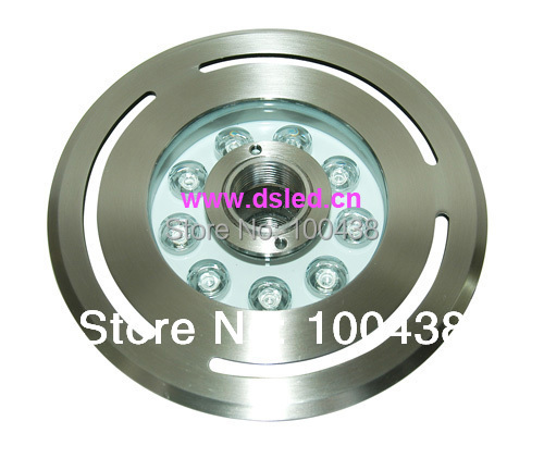 IP68,CE,stainless steel,high power 9W LED fountain light,underwater LED light,DS-10-37-9W, 9X1W,12V DC,2-year warranty free shipping by dhl ip68 stainless steel high power 9w led swimming pool light underwater led light ds 10 1 9w 3x3w 12v dc