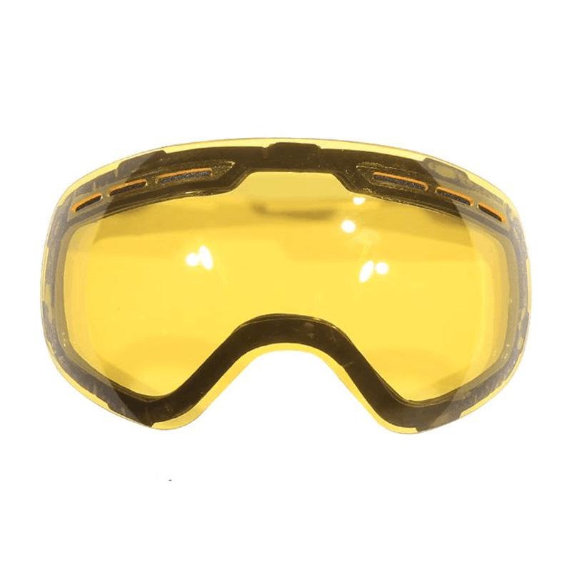 Skiing & Snowboarding Sports & Entertainment Model Number Snow-4100 Additional Increase Lightness Enhanced Luminosity Ski Lens Glass For Weak Light Tint Cloudy Weather