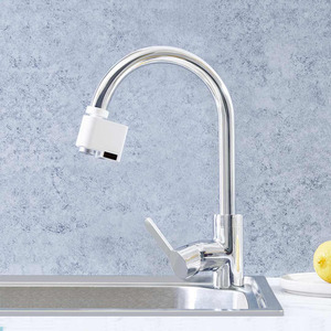 Image 5 - Youpin Zajia אינדוקציה מים שומר אינטליגנטי אינפרא אדום אינדוקציה מים ברז נגד הצפת מסתובב ראש מים חיסכון זרבובית ברז