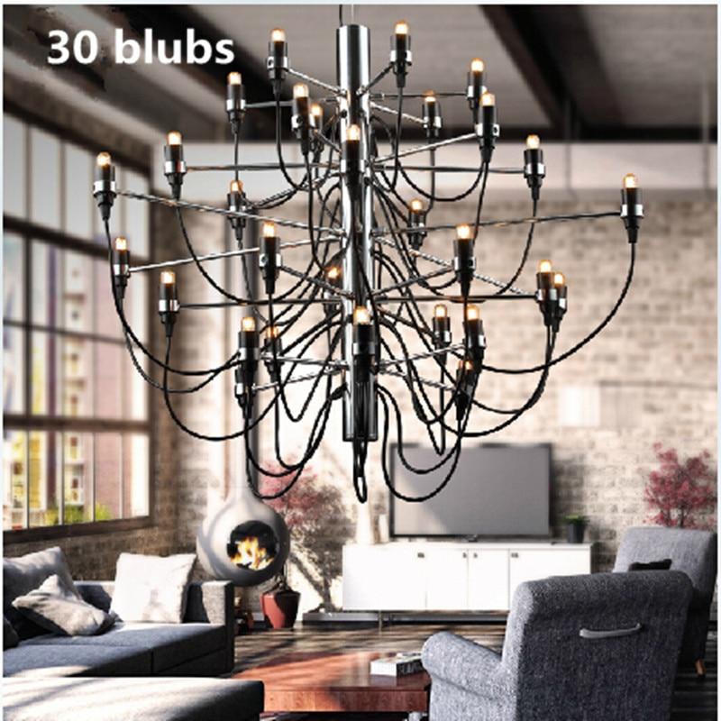 Modern Classical Chandelier Led Bulb Pendant Lamp Indoor Lighting Living Dinning Vintage Ceiling Decoration Light