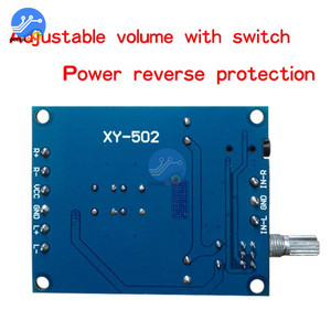 Image 3 - TPA3116D2 Audio Digital Amplifier Board 2X50W DC 4.5 27V Dual Channel Stereo Volume Control Class D Sound Speaker Board HIFI
