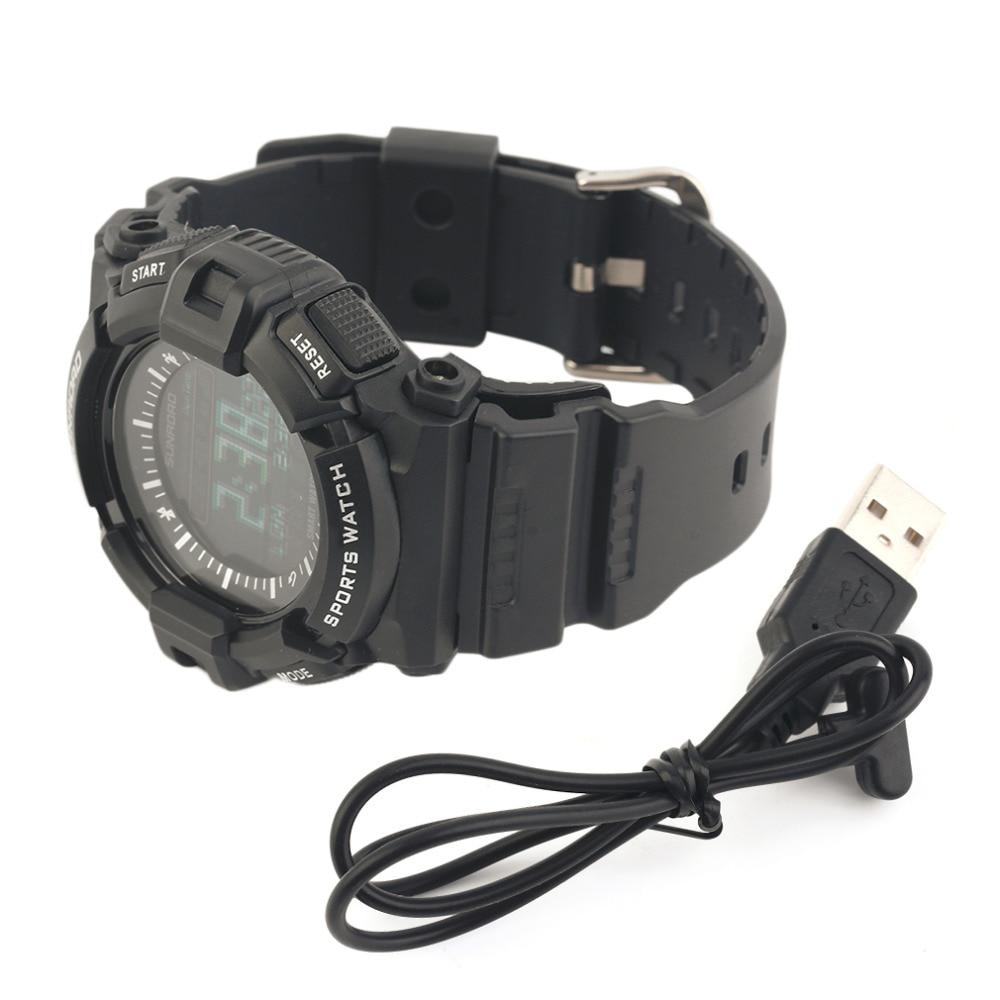 ФОТО Hot FR9211B Waterproof Sport Running Bluetooth Smart Watch Intelligent Monitor Dynamic Heart Rate Watch Black