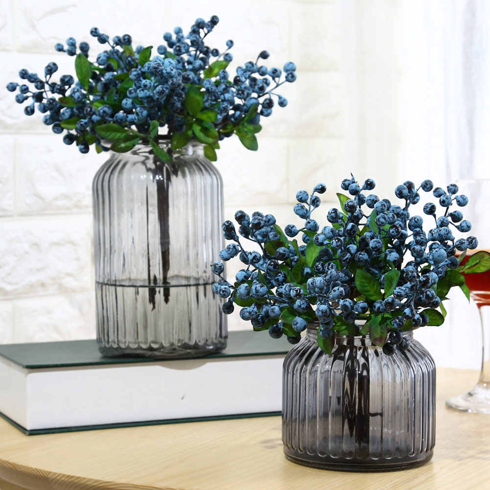 Artificial Simulation Berry Flower Plant Bouquet Home Wedding Party Decoration GQ999