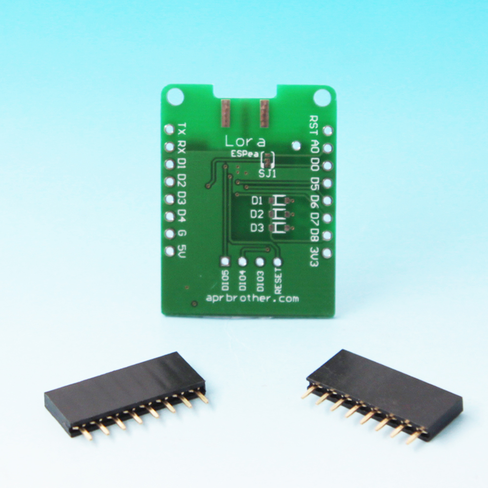 Lora Shield For ESPea Development Board