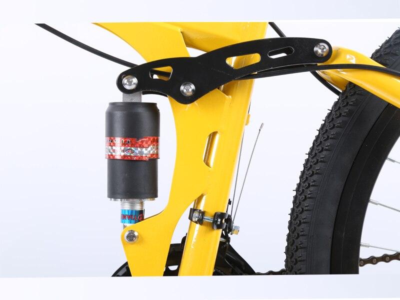 26inch folding mountain bike 6 knife wheel and 3 knife wheel mountain bike 21 speed double disc brakes bicycle
