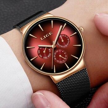 שעון קוורץ עמיד למים אנלוגי