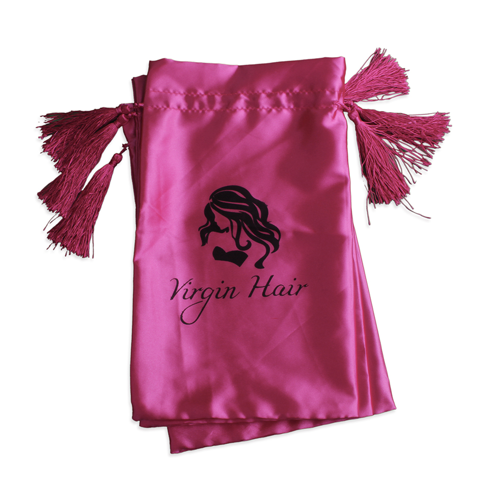Greatest Mass stock satin bags for gift hair packaging drawstring silk bags  SK29