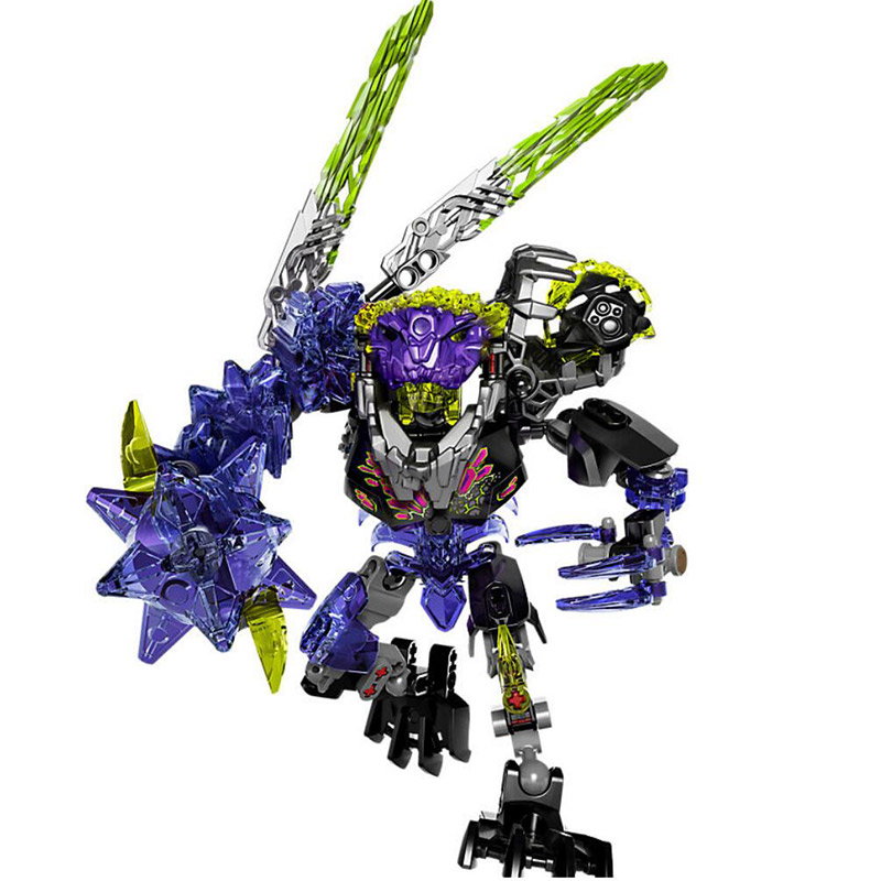 XSZ 613-4 Biochemical Warrior 71315 Bionicle Qurke Beast Building Block Bricks Toy Compatible With Legoings Bionicle