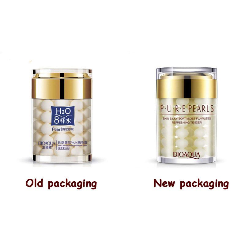 Bioaqua pure pearl cream New Desing