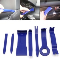 7Pcs Set Car Interior Dash Radio Door Clip Panel Trim Open Removal Tools Kit