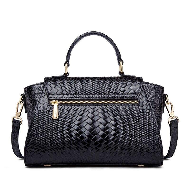 ZOOLER di lusso di marca classic borsa a tracolla in pelle con il singolo spalla diagonale straddle borsa per le donne borsa di Grandi Dimensioni capacità-in Borse con manici da Valigie e borse su  Gruppo 3