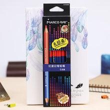 Marco Renoir 6 pièces Professionnel Crayons De Couleur Crayon De Couleur Dessin Ensemble De Crayons En Bois Fournitures D'art