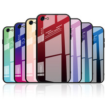 Luxury Gradient Cover Phone Case For Iphone 8 7 Plus Silicone On The 8plus 7plus