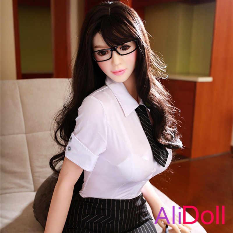 ALIDOLL 165 см (5.41ft) Супер сексуальное тело настоящие силиконовые секс куклы для мужчин большая грудь задница влагалище оральный термопластичный эластомер женщина Бесплатная доставка