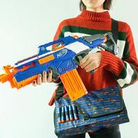 LeadingStar Военная игрушка снаряд из ЭВА сумки для хранения детей тактическое оборудование пистолет аксессуары большой емкости зажимы сумка дл...