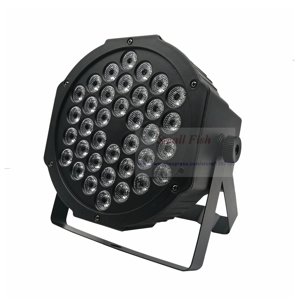 Image 4 - Fast Shipping LED 36x3W RGBW LED Flat Par RGBW Color Mixing DJ Wash Light Stage Uplighting KTV Disco DJ DMX512 Decorative Lamp-in Stage Lighting Effect from Lights & Lighting on