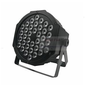 Image 4 - Snelle Verzending Led 36X3W Rgbw Led Flat Par Rgbw Kleur Mengen Dj Wash Light Stage Uplighting Ktv disco Dj DMX512 Decoratieve Lamp
