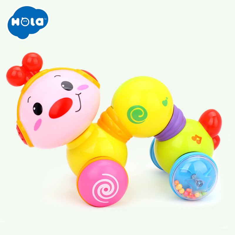 Cute Baby Rattles Chick Tumbler Doll Baby Toys Sweet Bell Music Light poly Learning Education Toys Gifts Baby Bell Baby Toys in Baby Rattles Mobiles from Toys Hobbies