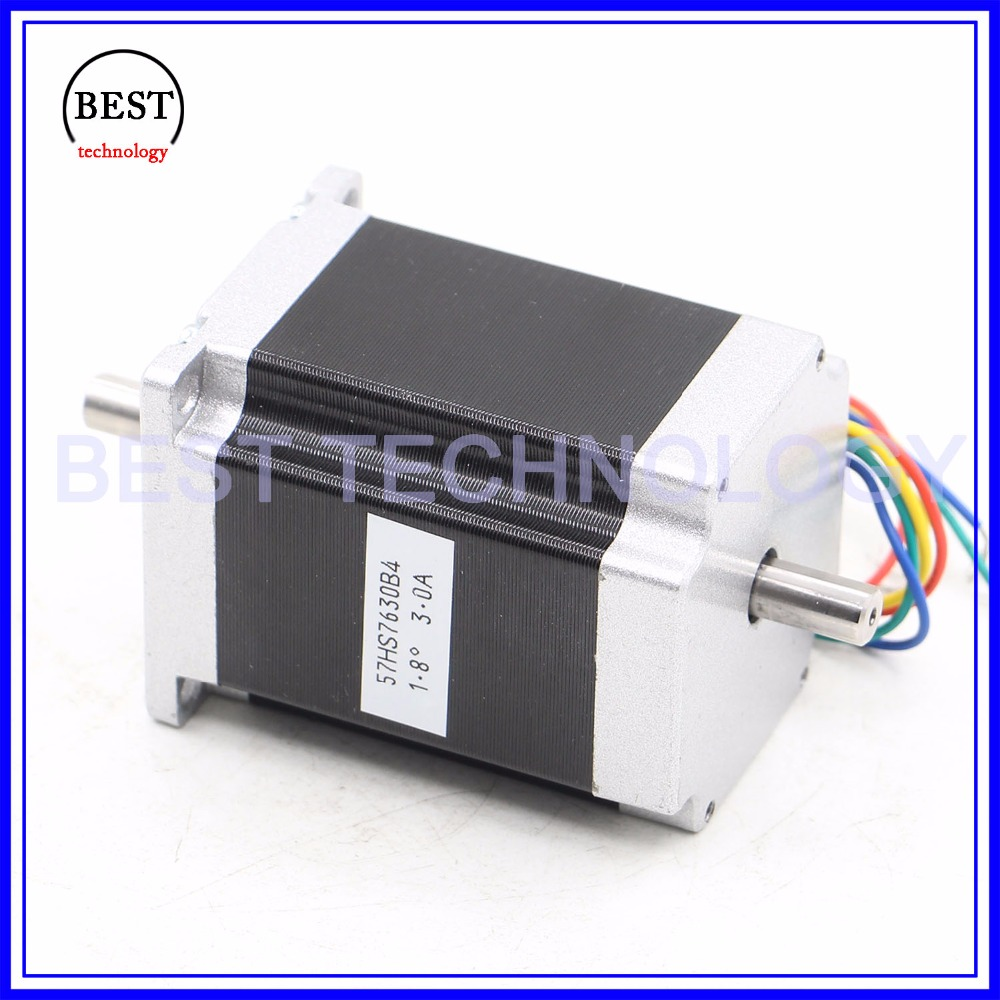 Nema23 Stepper Motor Kit 189nm 76mm Length Nema 23 3a 4 Wire Wiring Harness Wires Dm542 Microstep 256 42a 24 50vdc For Cnc Machine In From Home
