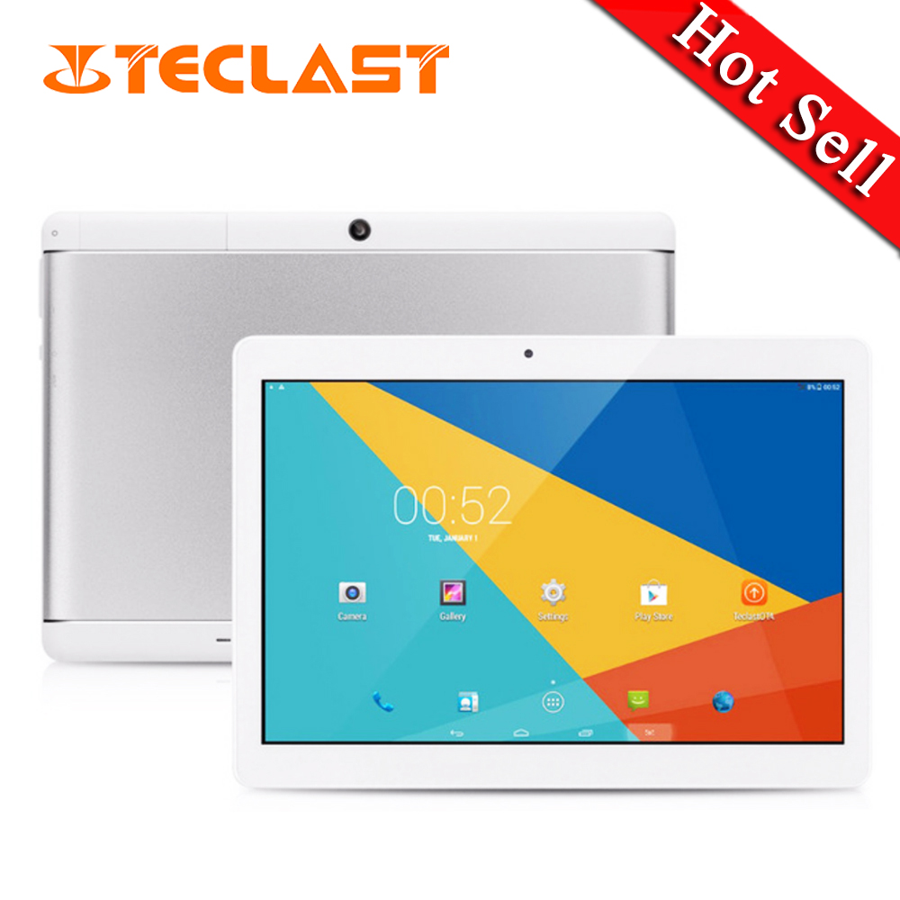 Tablets 10.1 inch Teclast X10 Quad Core 1280×800 IPS Screen Android 6.0 MTK6580 RAM 1GB ROM 16GB Dual SIM Dual Camera Tablet PC