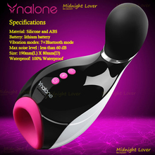 Nalone Mermaid Bluetooth Blow Job Vibration Air Bag Suck Rechargeable Male Electric Artificial Vagina Automatic Masturbator