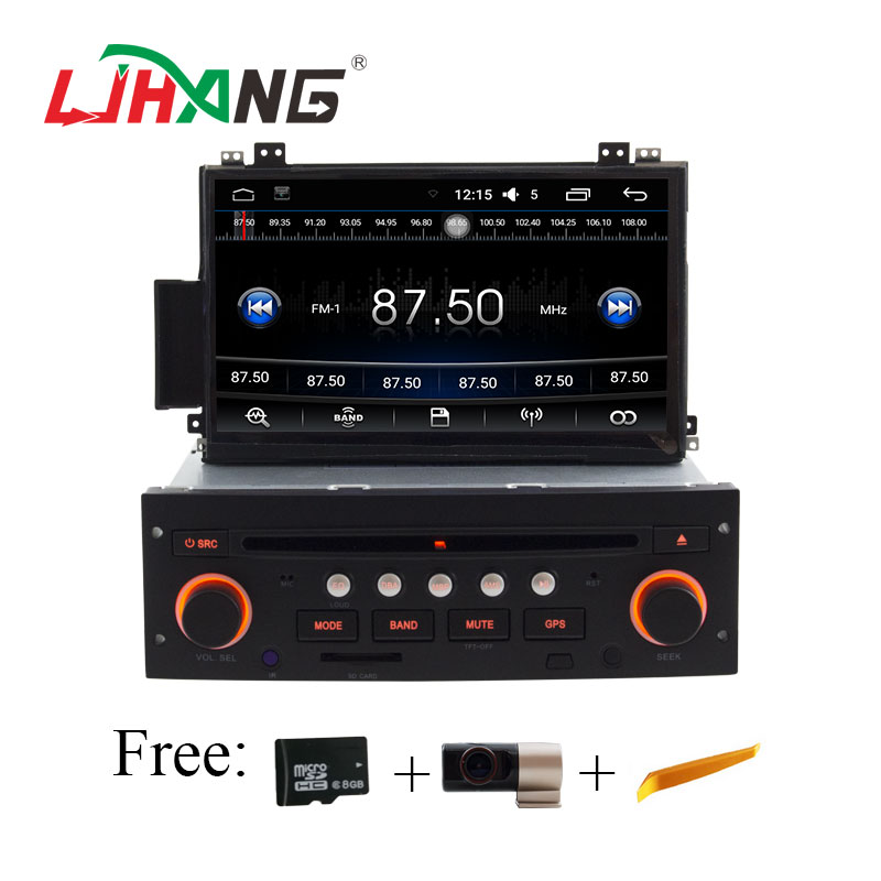 LJHANG 1 Din Android 6.0 Auto DVD Player für Citroen C5 bluetooth Multimedia GPS navigaiton radio stereo canbus lenkrad