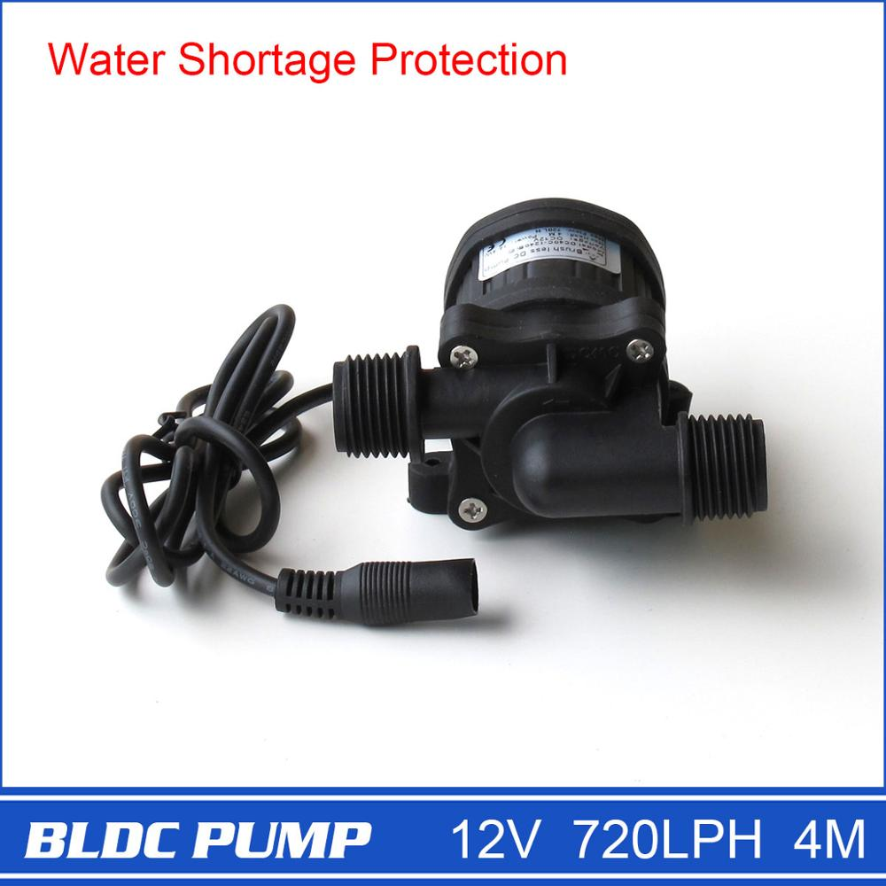 Small Water Pump DC40C 1240, for Water Circulation Aquarium Car Washing Fountain Irrigation, Submersible,720LPH 4M