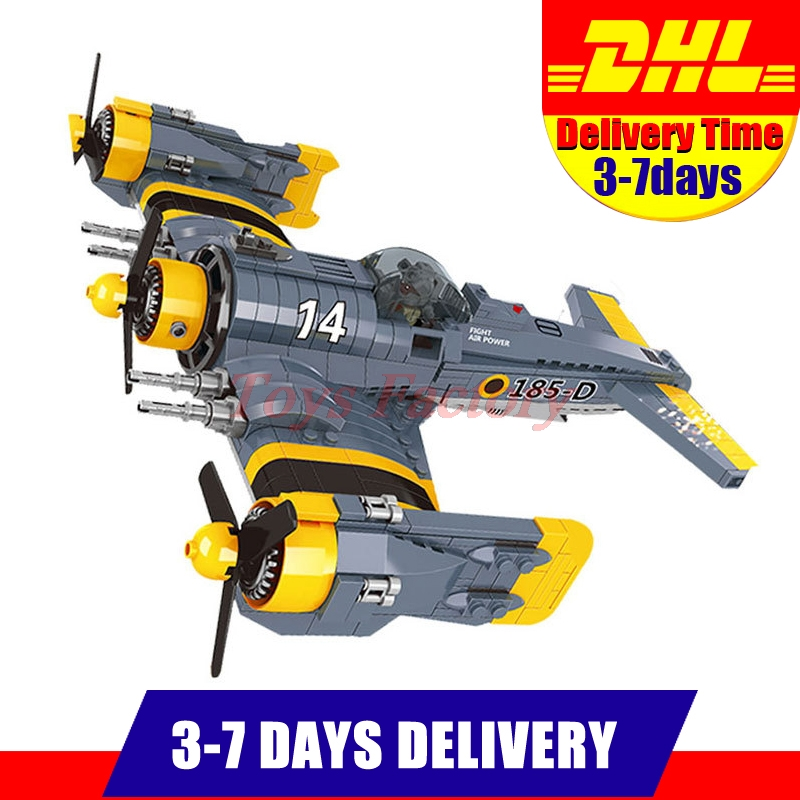 DHL Lepin 22021 919pcs Beautiful Science Fiction Fighting Aircraft Set Model Building Kit Set Blocks Bricks Children Toy Gift the great science fiction