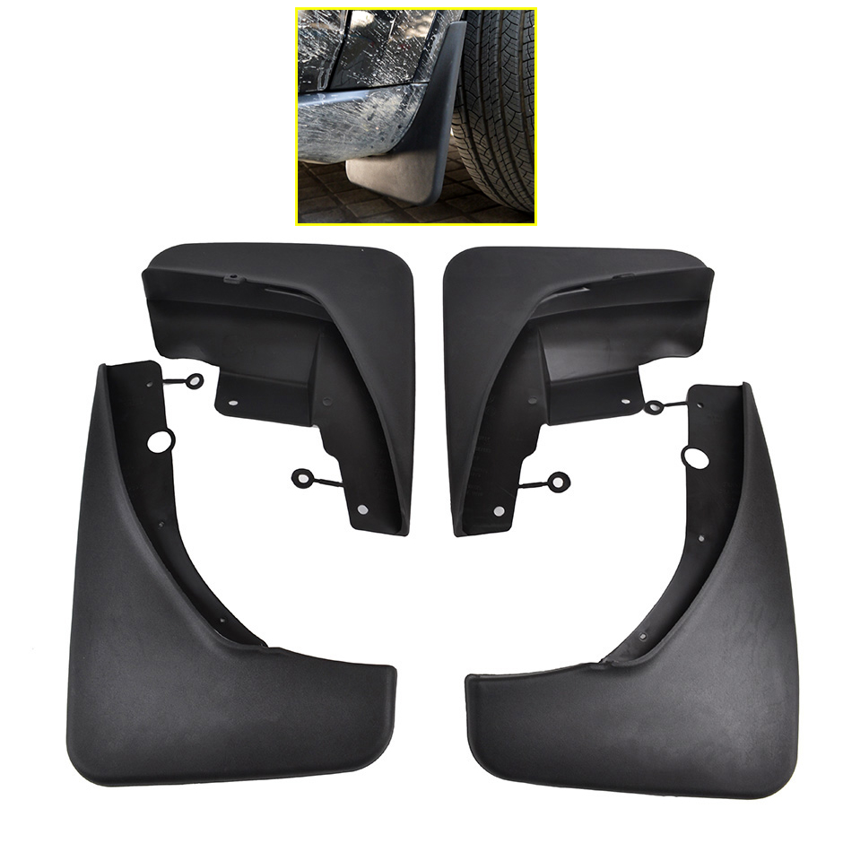 Set front rear car mud flaps for jeep grand cherokee wk2 2011 2016 mudflaps splash