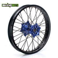 BIKINGBOY 18 Motocross Rear Wheel Rim Hub 36 Spokes For YAMAHA YZ 250F YZ 450F 2009 2010 2011 2012 2013 2014 2015 2016 2017