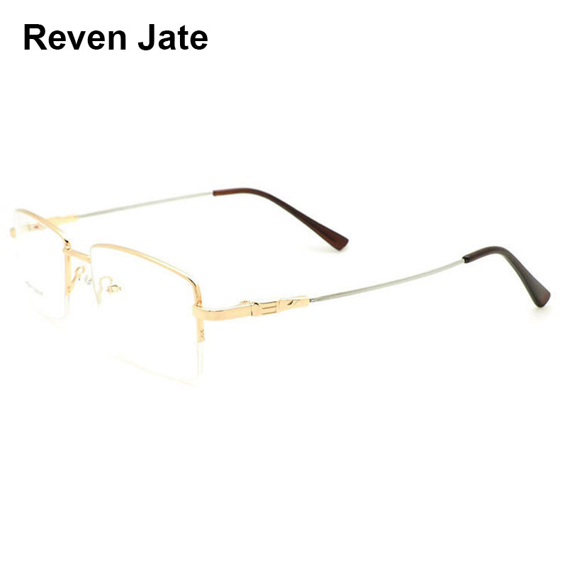 Memory Titanium Alloy Eyeglasses Frame Semi-Rimless Glasses Optical Spectacles Eye Glasses Prescription Visioin Correction Frame