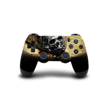 Skull design PS4 Controller Skin Sticker Vinly Decal Cover for Sony PlayStation 4  Wireless Controller