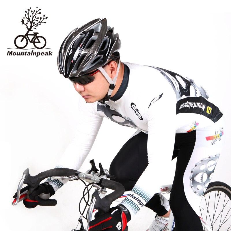 Berggipfel Frühling und Herbst tragen langärmelige Anzug Männer - Radfahren - Foto 2