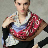 Woman 100% Australian Merino Wool Scarf Shawl Scarves Women New Fashion Style Wraps Warm Muffler silenziatore Auspufftopf Winter