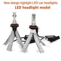 2X HIGH POWER 8C Canbus 80W 8000LM Auto LED Headlight H15 Headlamp kit 6000K White Bulbs No Error Epistar Chip H1 H4 H7 H11 Lamp