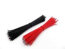 Луженой wire _ соединительный макет провода красный кабель из см черный