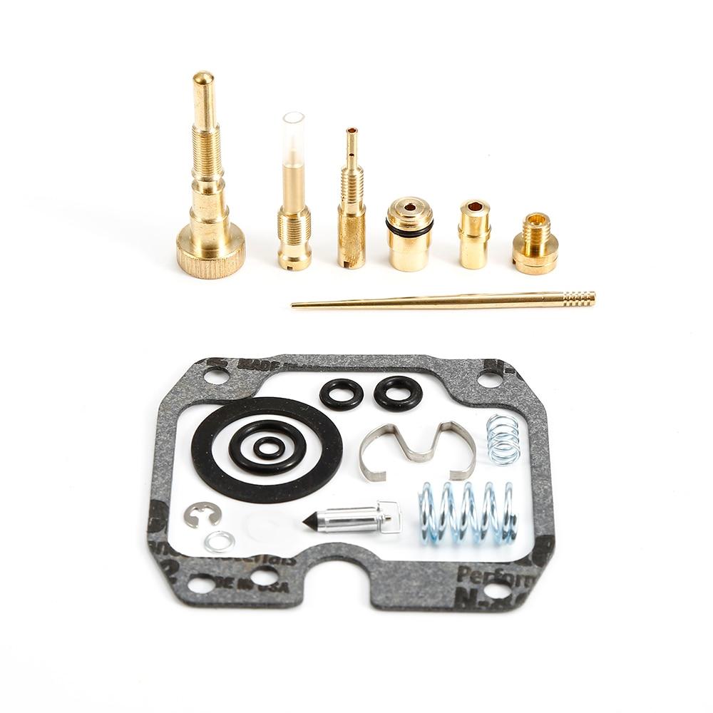 Car Carburetor Carb Repair Overhaul Kit fits for Yamaha Moto 4 YFM250 1989-1991 Carburetor & Fuel Maintenance Kit Auto Parts