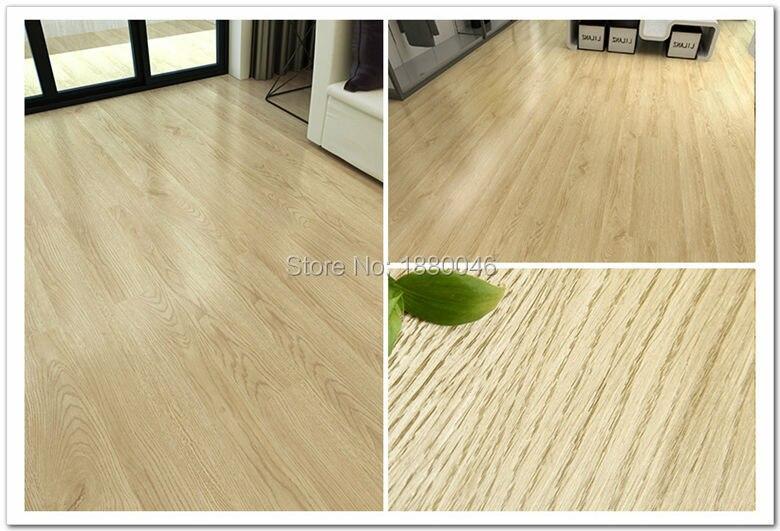 Brand New 2 Square Meters pvc floor Self adhesive pvc flooring wood DIY wood finish vinyl flooring tiles waterproof pvc flooring