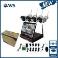 Novo Sistema de Câmera Do Monitor Sem Fio 960 P 10.1 polegada Apoio 1 TB/2 TB/3 TB 4 TB HDD com 10.1 Polegada de Tela Gravador de Vídeo em Rede Kit