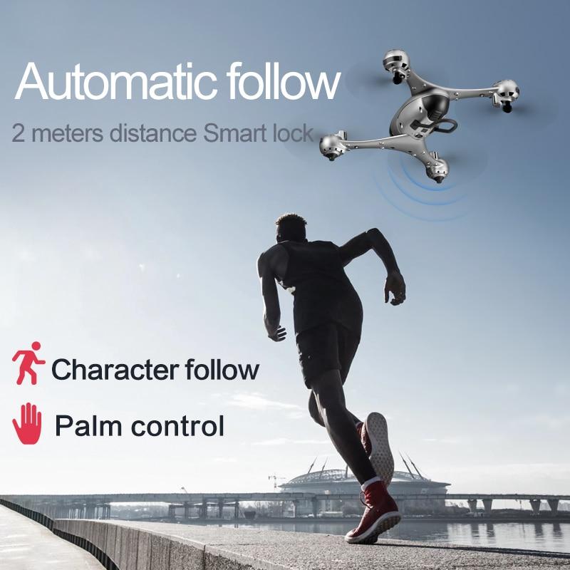 HOT mini rc Drone WIFI FPV Quadcopter Profession Dual camera 4K 1600p or 5mp otpro HD Video Altitude Hold Helicopter dron VS XS809HW Professional Drones 4K HD Video FPV WIFI With Camera Gimbal RC Drone Quadcopter dron