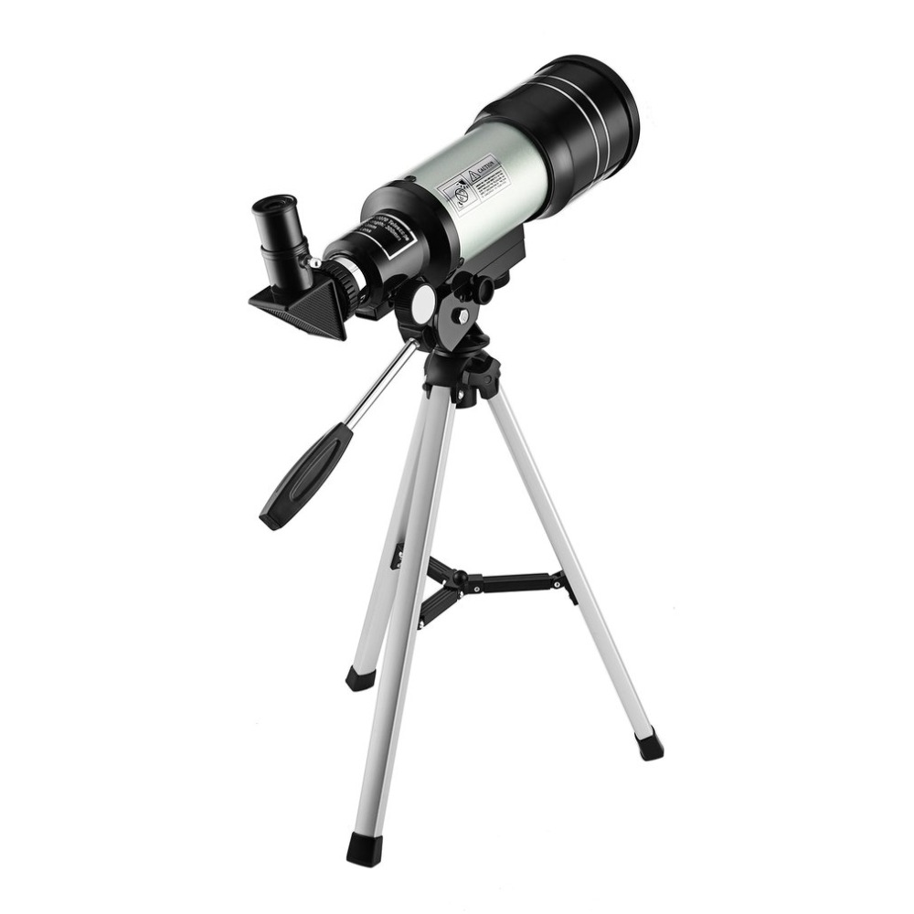 Monocular Beginner Astronomical Telescope with Tripod Finderscope Terrestrial Space Monocular Telescopio Moon Watching drop ship