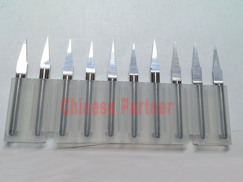 10pcs 3.175 0.3 mm 10 degree CNC Router Flat Bottom Engraving Bit Cutting Tool