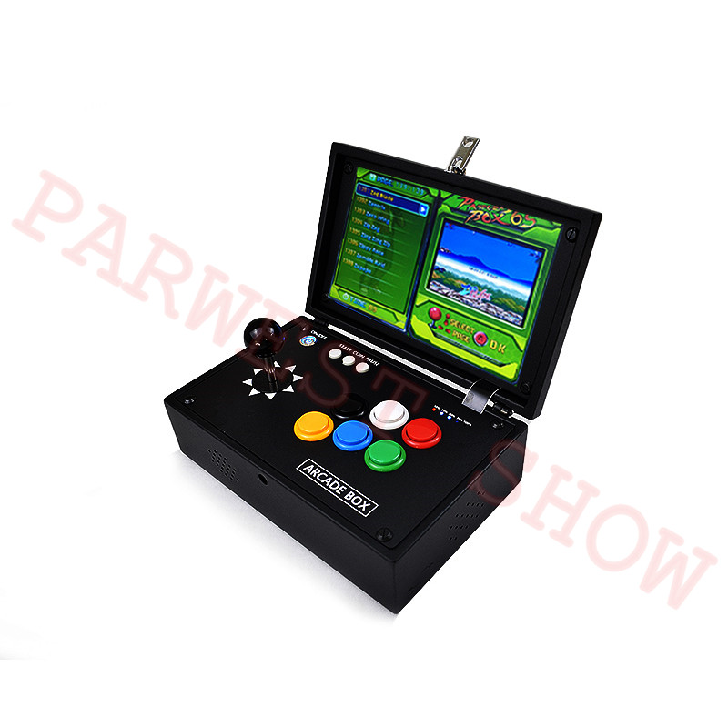 10 inch Box 6S arcade joystick machines video game console multi games 1388 in 1 DIY mini arcade game console - 2