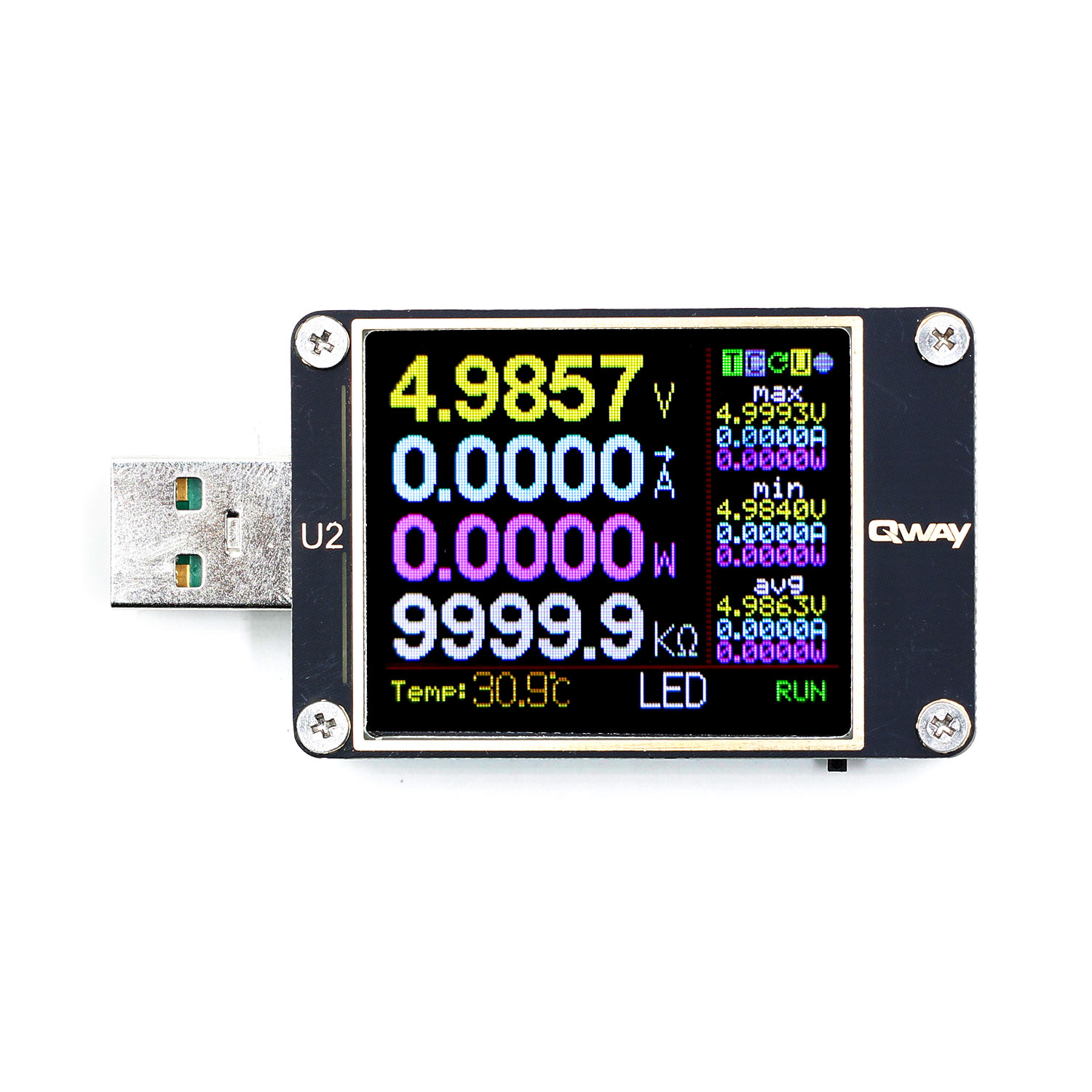 Image 5 - WEB U2 Current And Voltage Meter USB Tester QC4+ PD3.0 2.0 PPS Fast Charging Protocol Capacity Test-in Voltage Meters from Tools